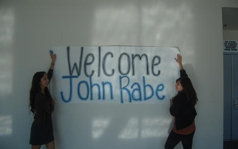 Welcome John Rabe